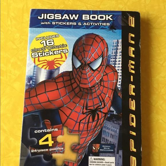 Marvel Spider-Man puzzle book